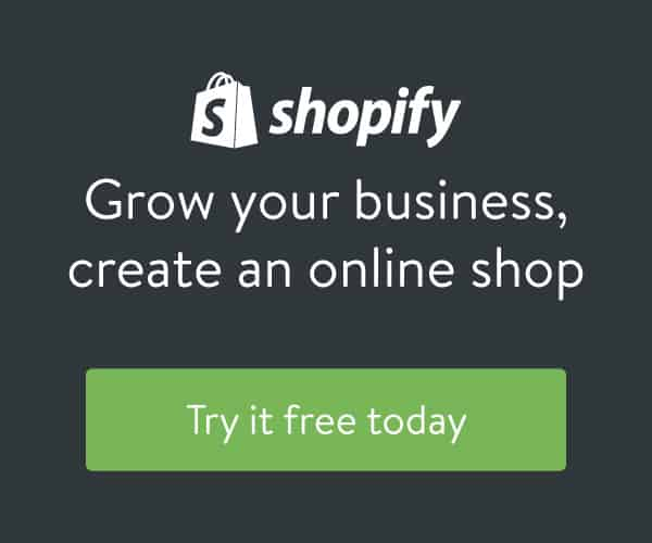 Try Shopify Free Today